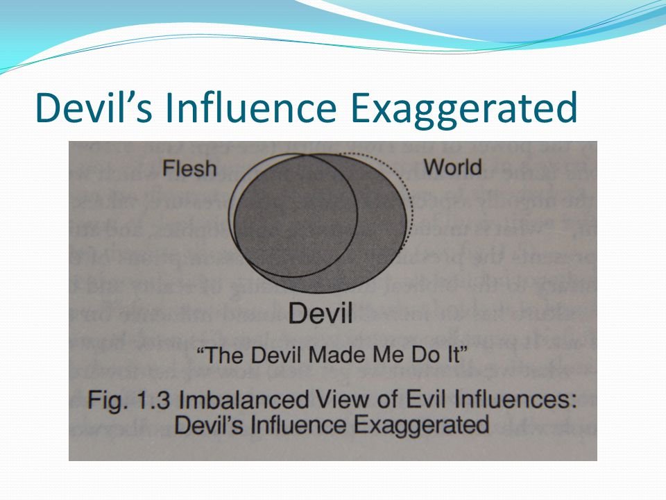 Devil's Influence Exaggerated