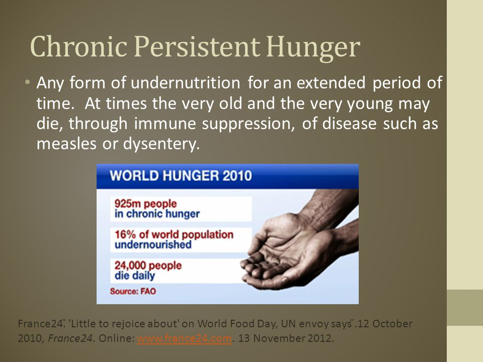 Chronic Persistent Hunger
