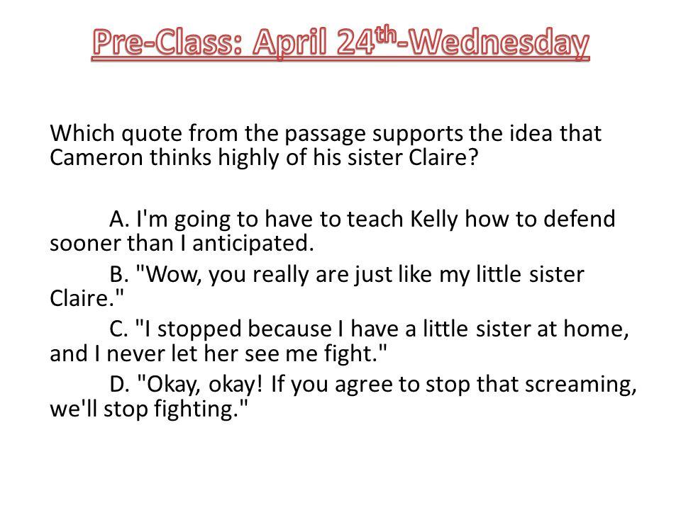 Pre-Class: April 24th-Wednesday