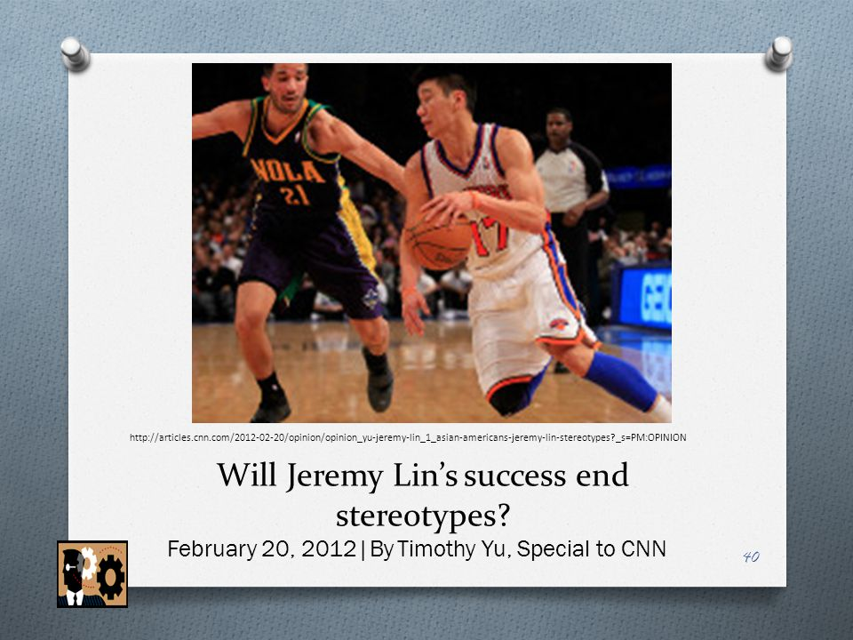 Will Jeremy Lin's success end stereotypes