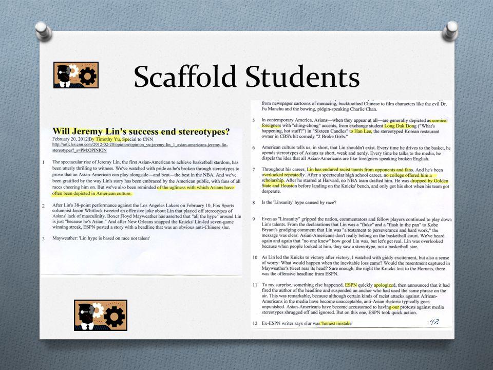 Scaffold Students
