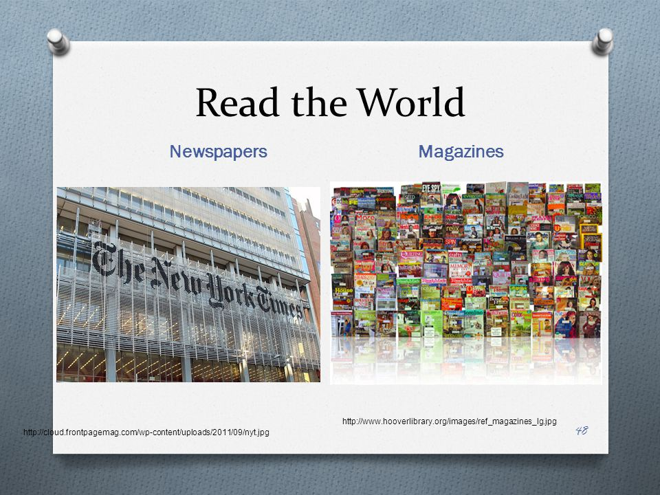 Read the World Newspapers Magazines