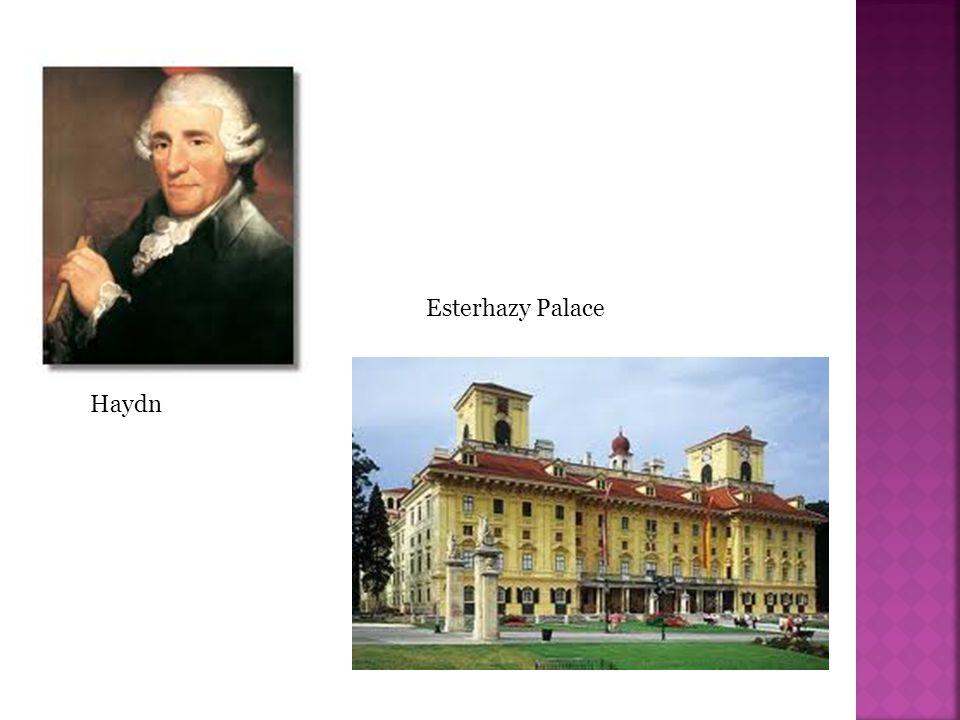 Esterhazy Palace Haydn