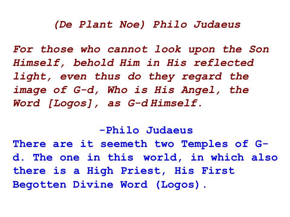 (De Plant Noe) Philo Judaeus