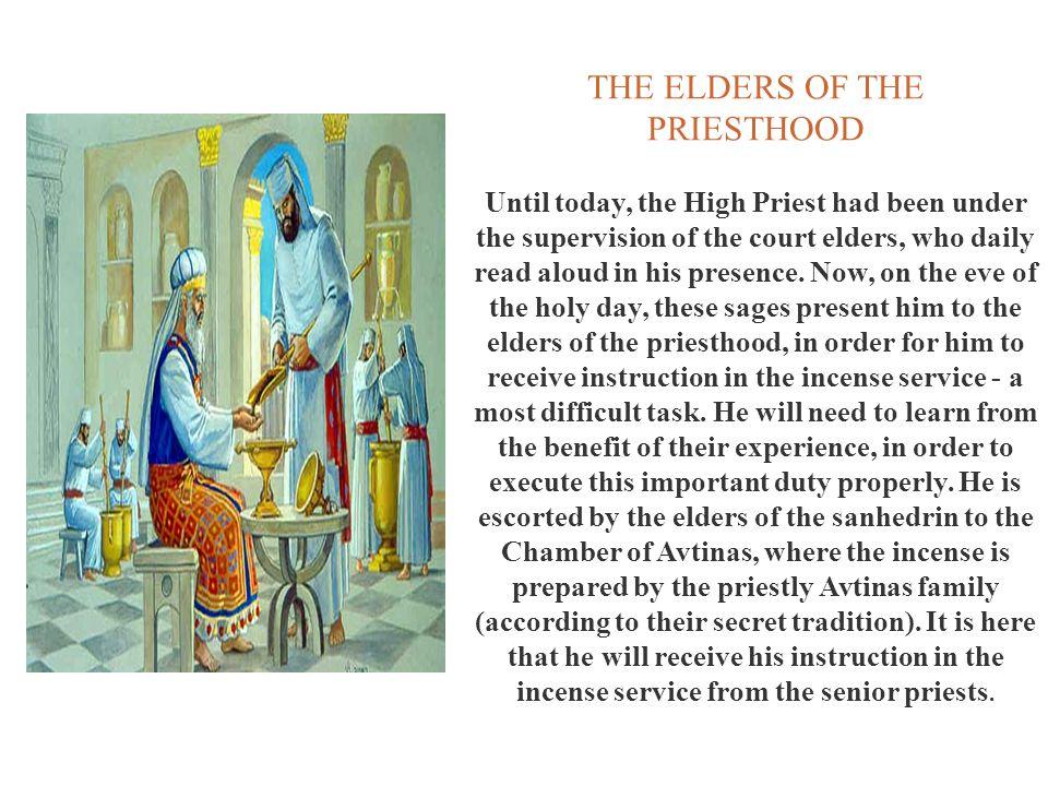 THE ELDERS OF THE PRIESTHOOD