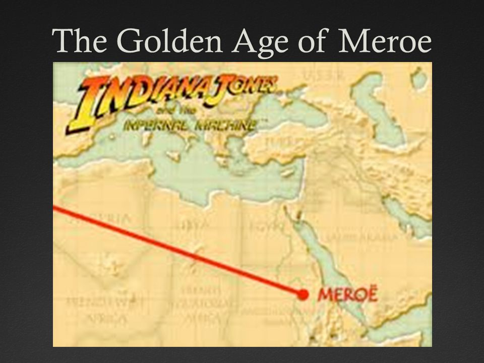 The Golden Age of Meroe