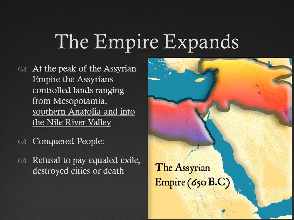 The Empire Expands