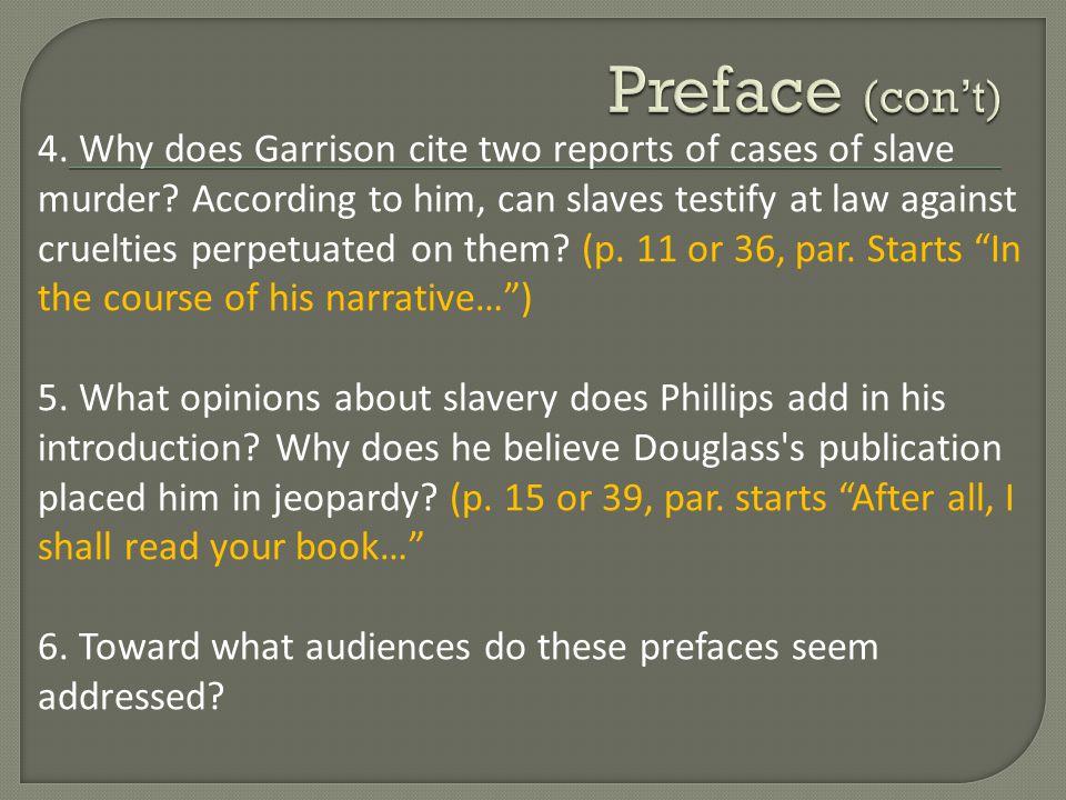 Preface (con't)