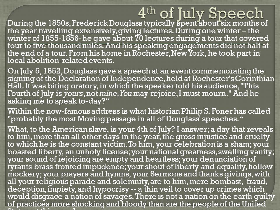 4th of July Speech