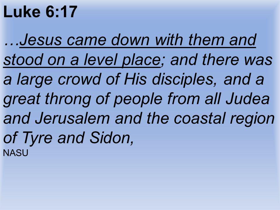 Luke 6:17