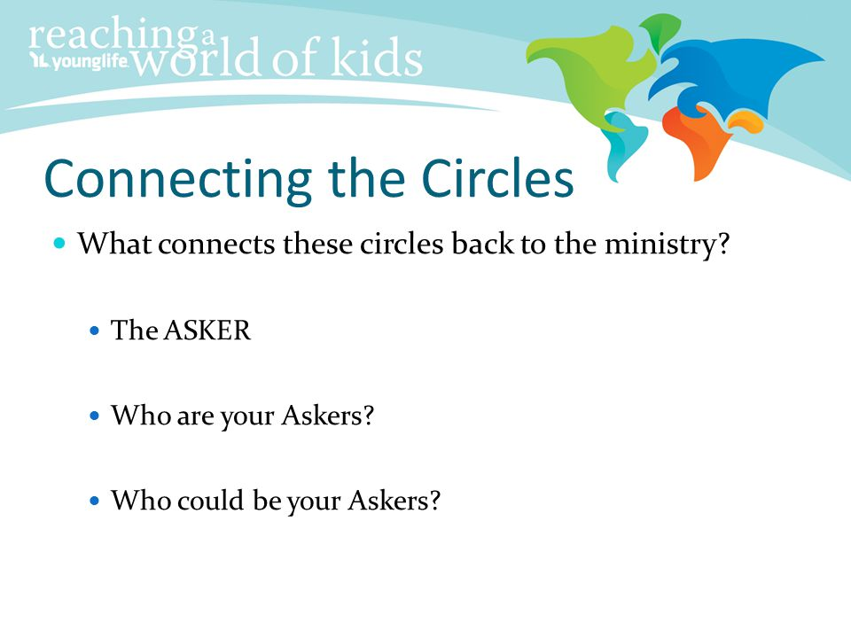 Connecting the Circles