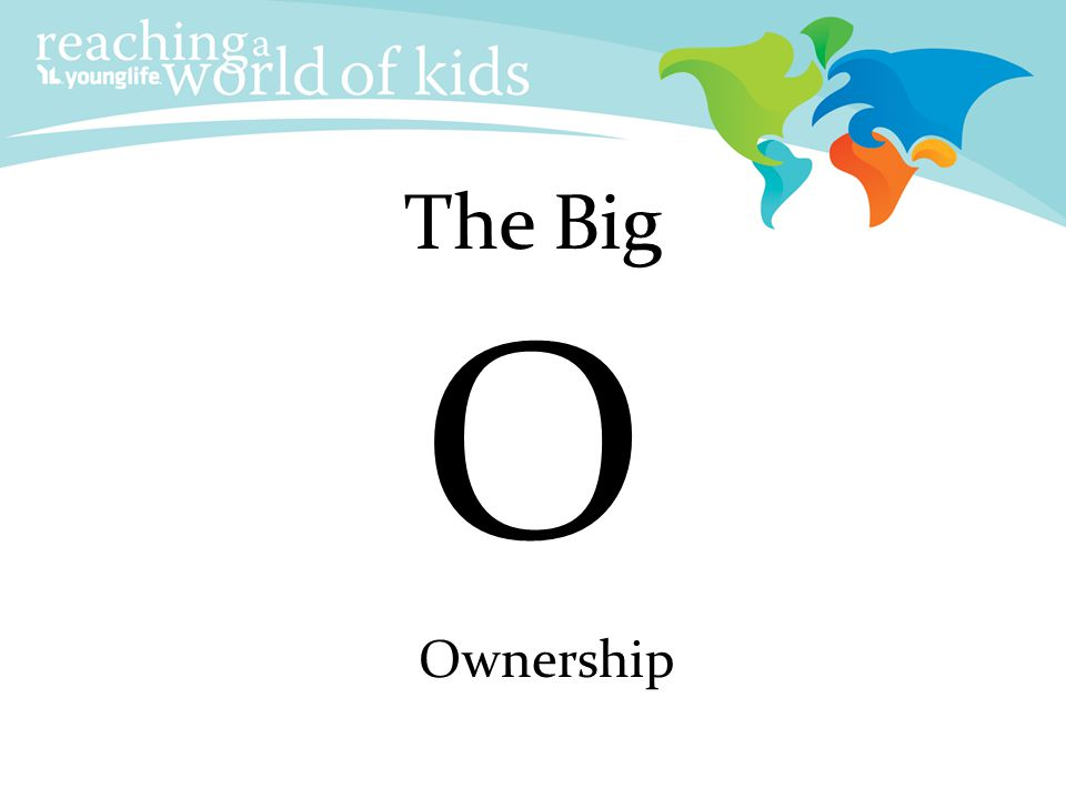 Adult Ownership The Big O Ownership