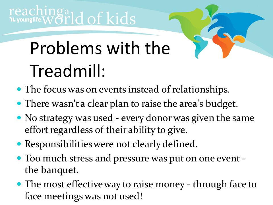 Problems with the Treadmill:
