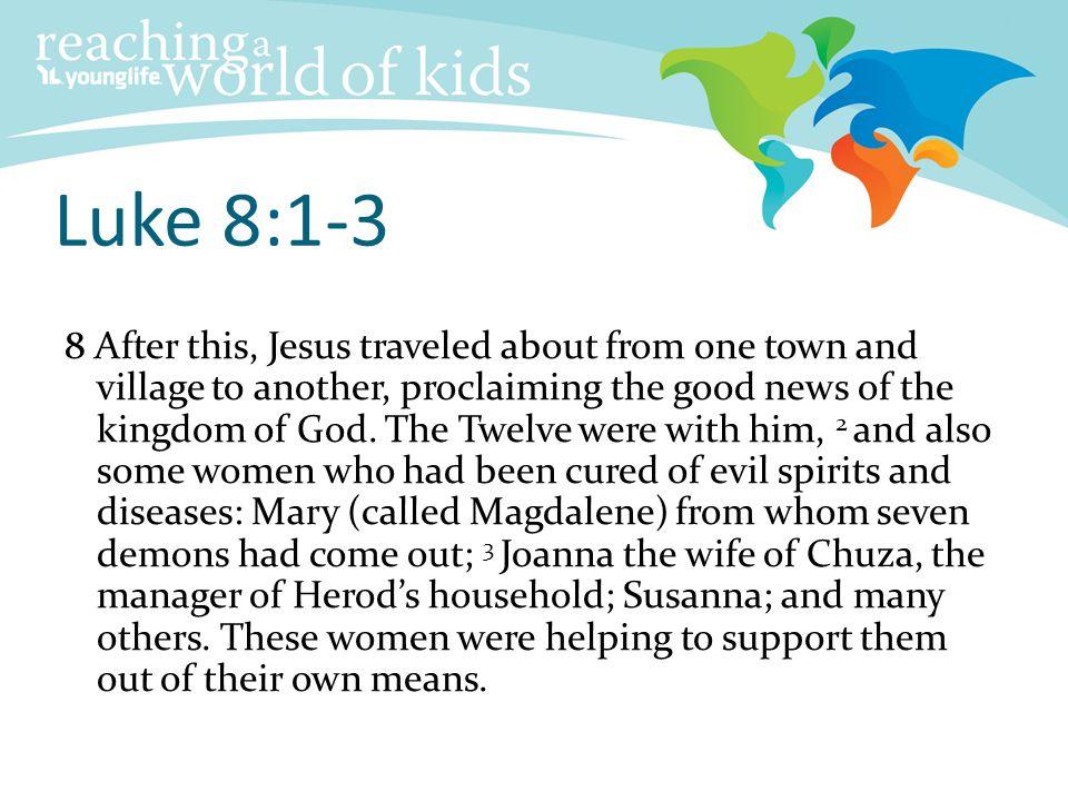 Luke 8:1-3