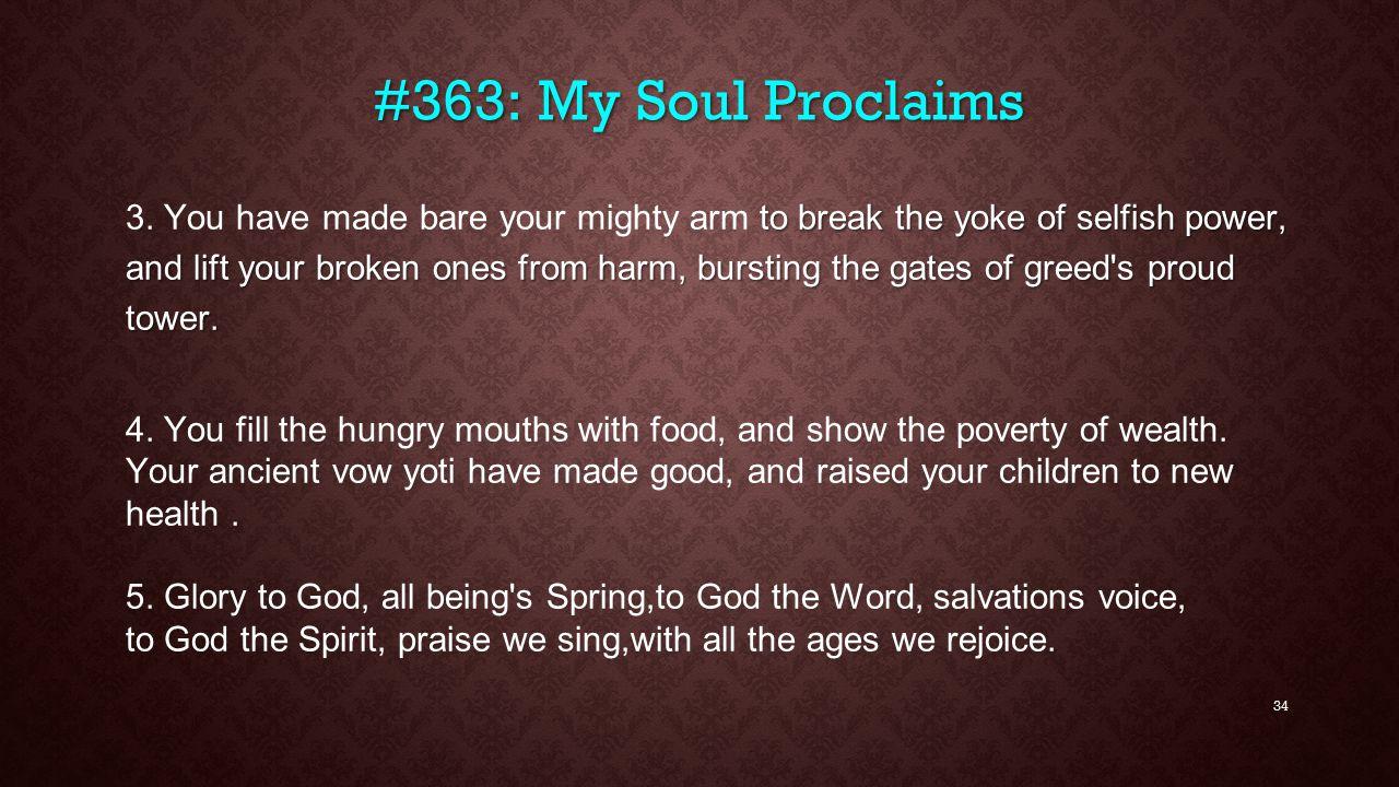 #363: My Soul Proclaims