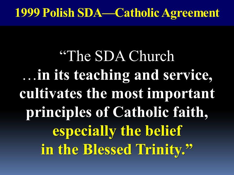 1999 Polish SDA—Catholic Agreement