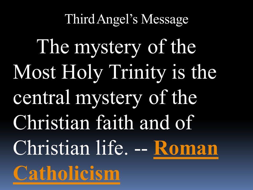 Third Angel's Message