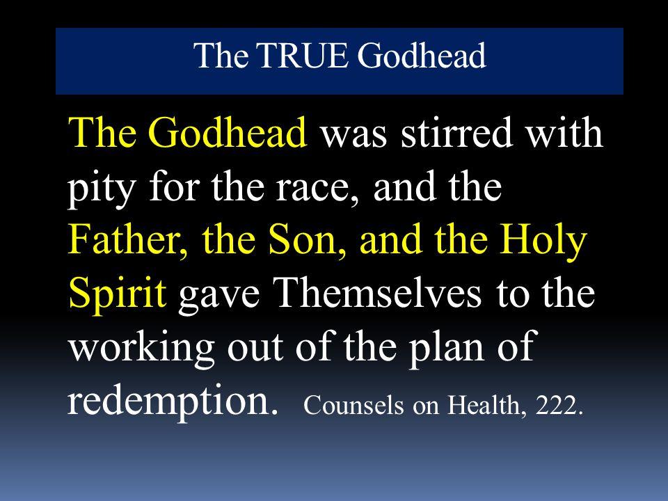 The TRUE Godhead