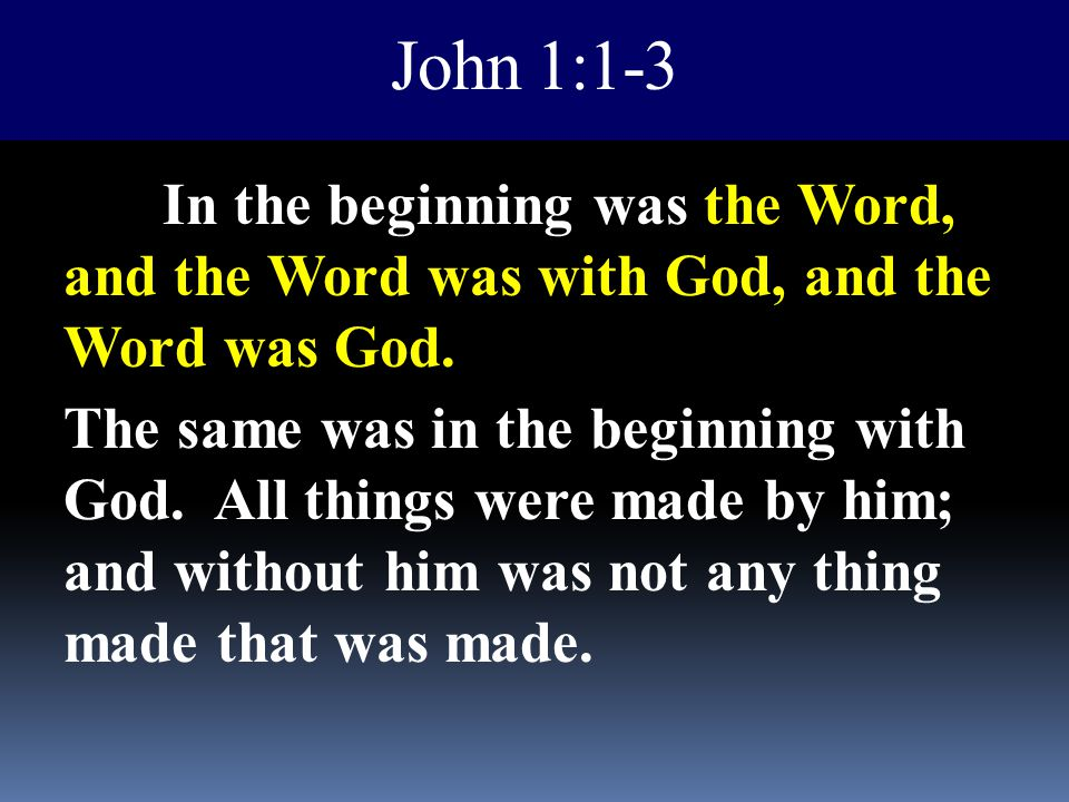 John 1:1-3