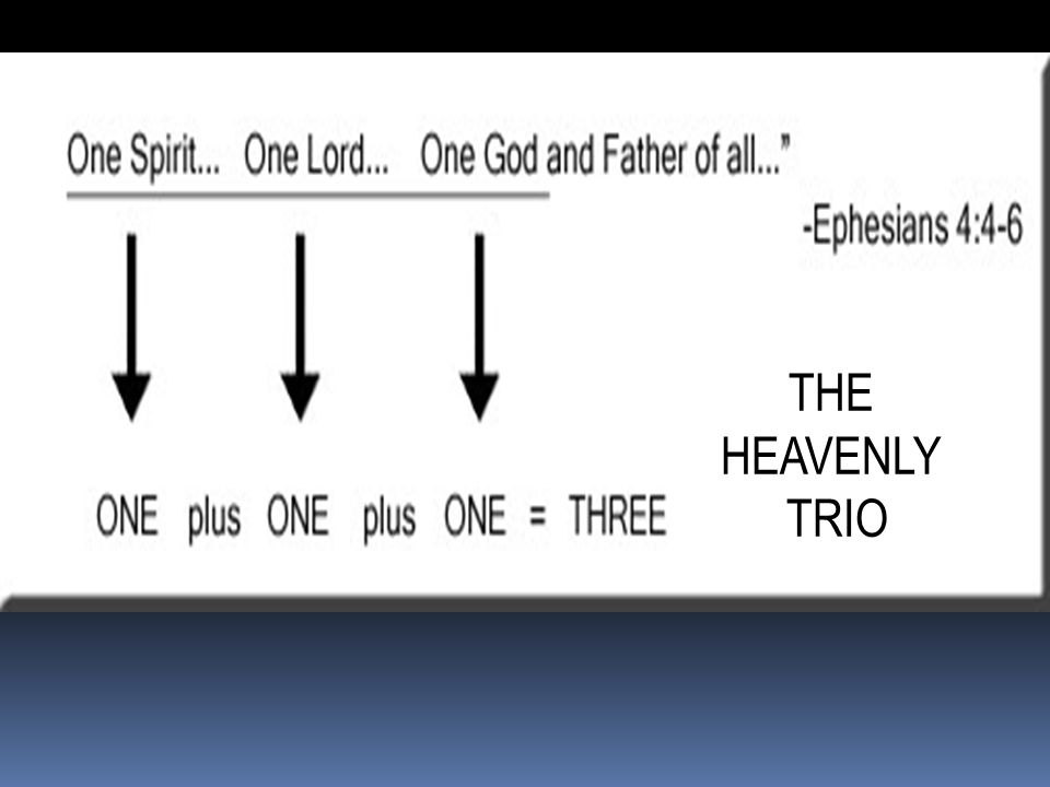 THE HEAVENLY TRIO