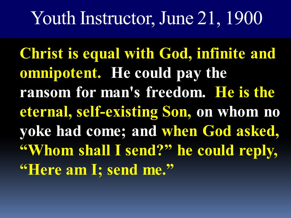 Youth Instructor, June 21, 1900