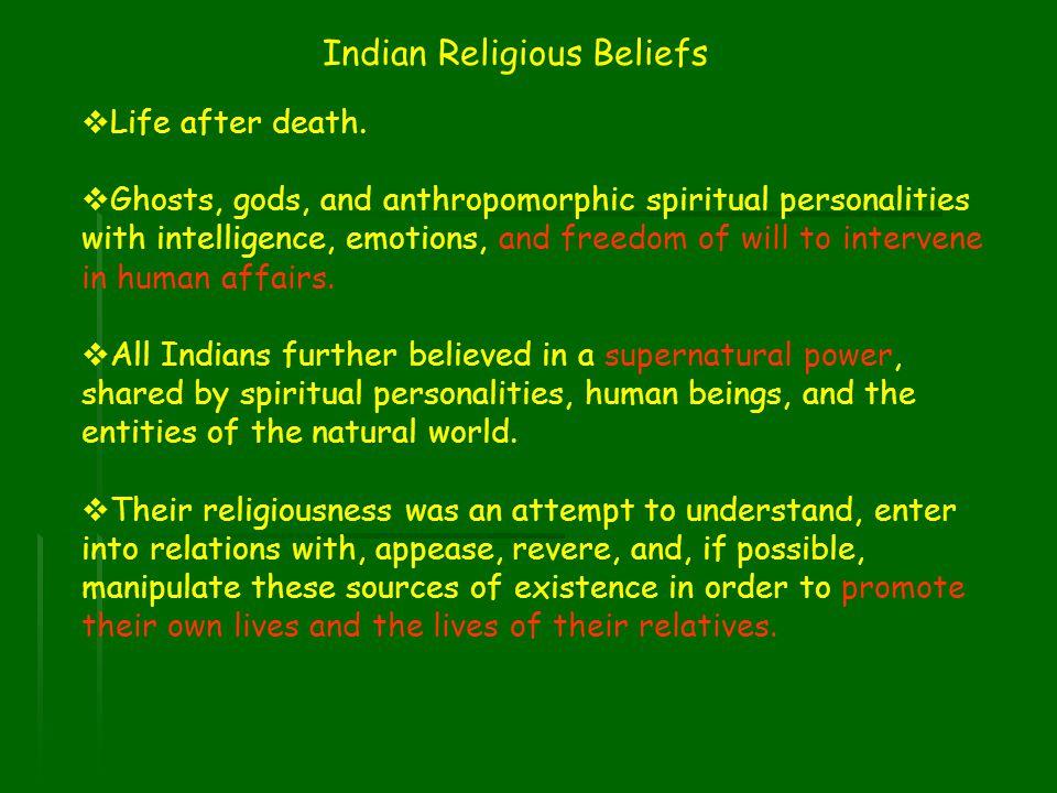 Indian Religious Beliefs