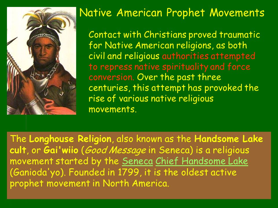 Native American Prophet Movements