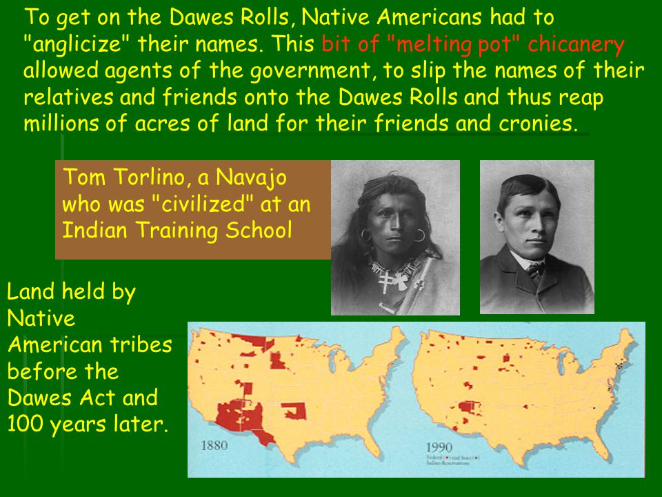 Tom Torlino, a Navajo who was civilized at an Indian Training School