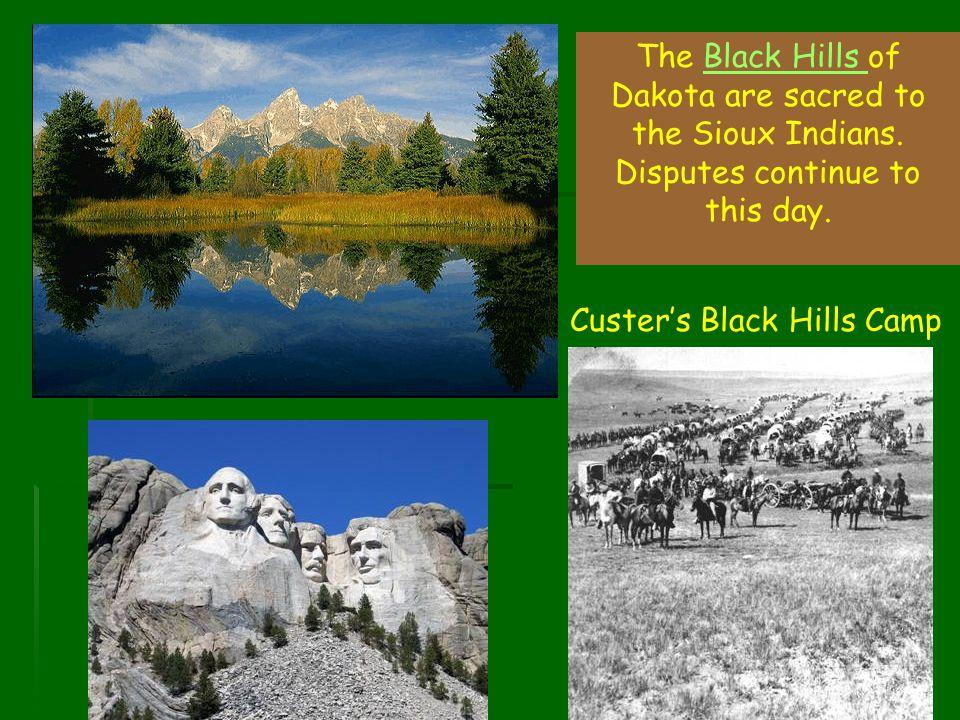 Custer's Black Hills Camp
