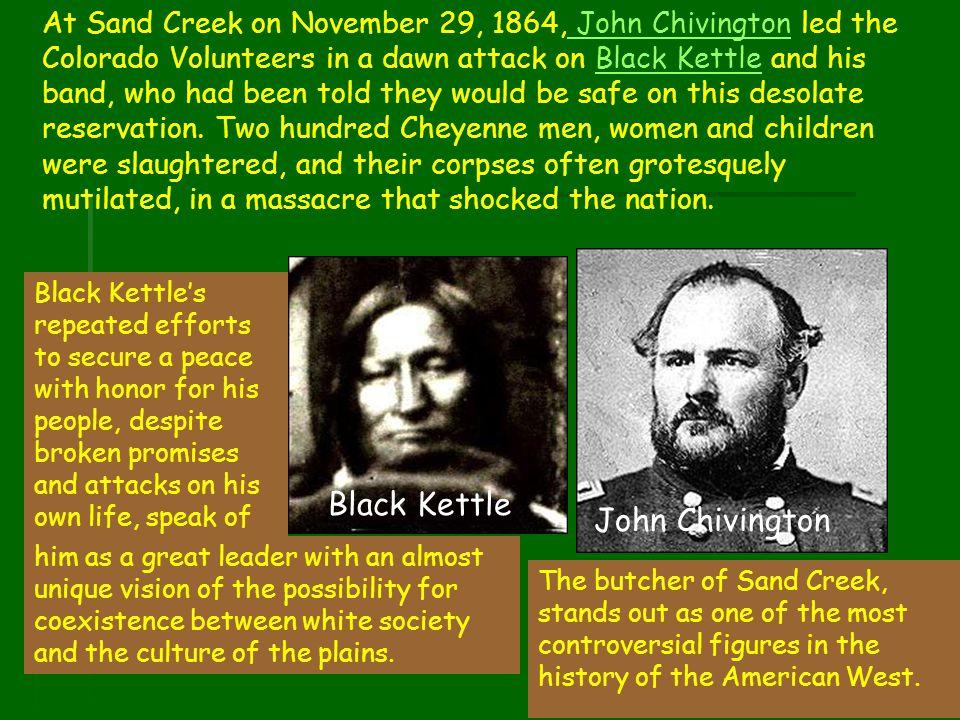 Black Kettle John Chivington