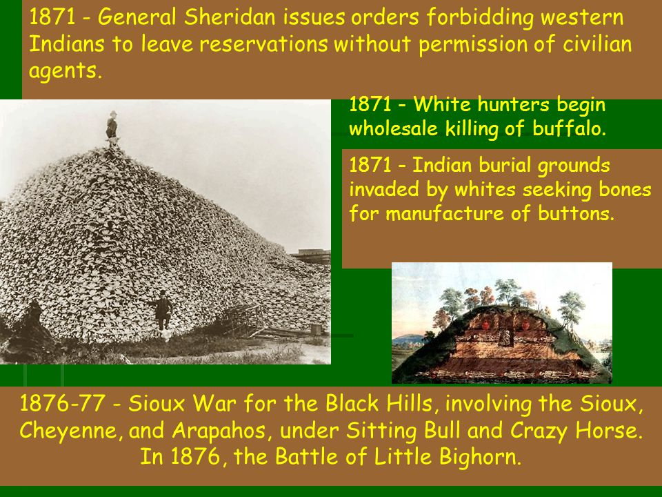 In 1876, the Battle of Little Bighorn.