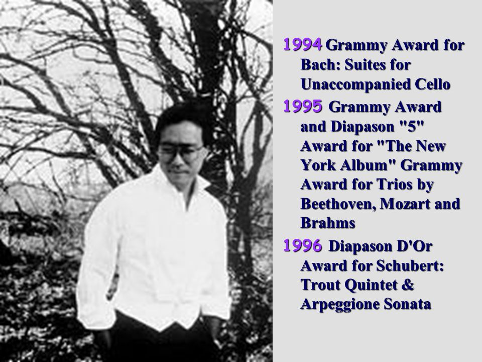 1994 Grammy Award for Bach: Suites for Unaccompanied Cello