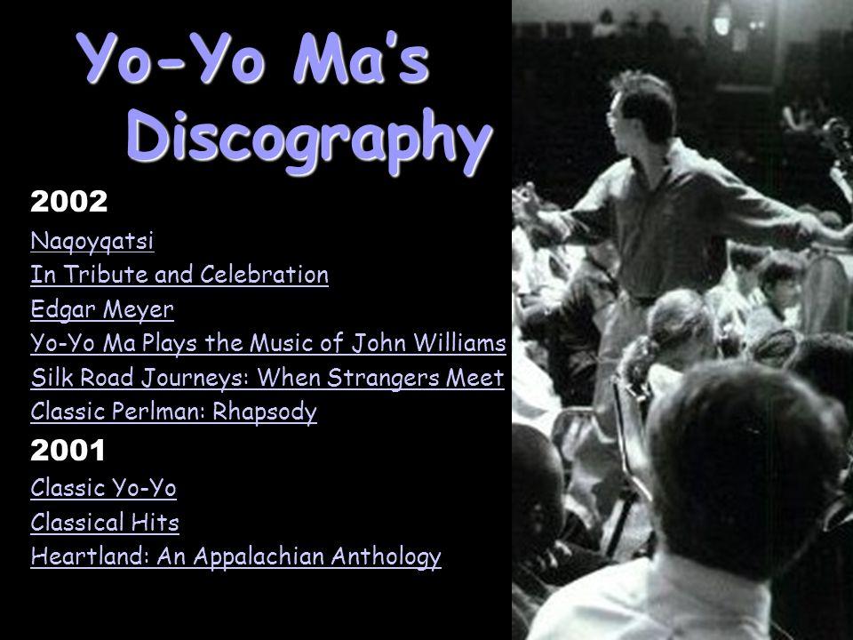 Yo-Yo Ma's Discography