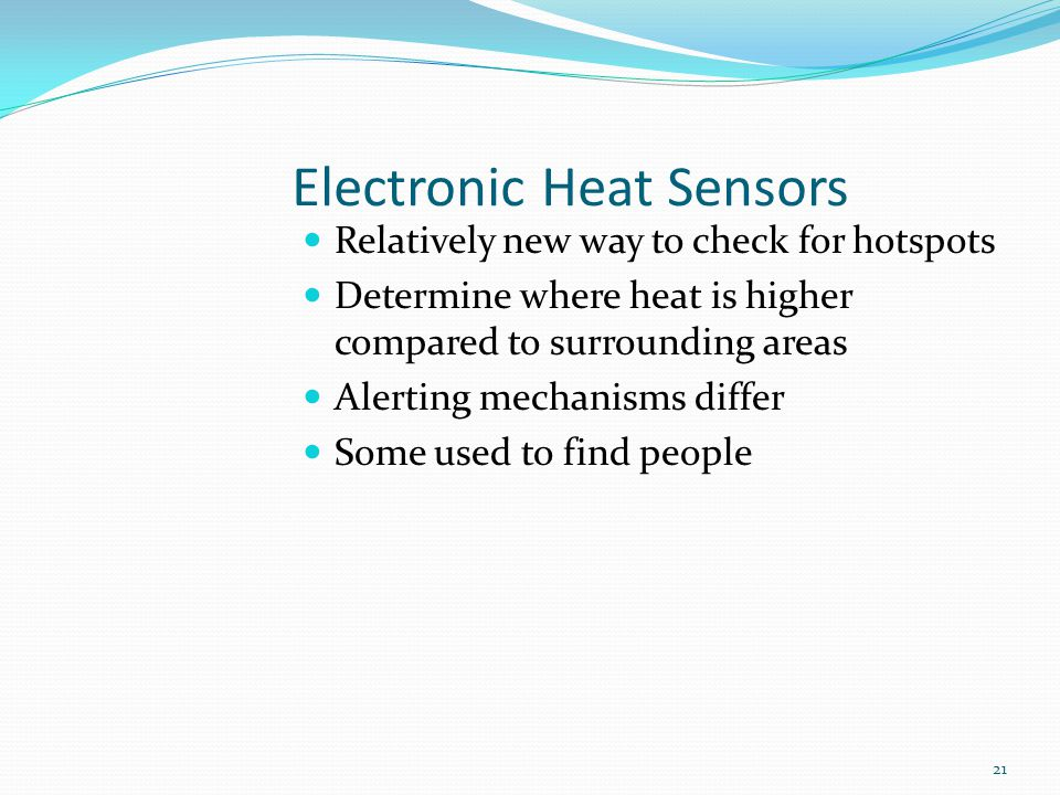 Electronic Heat Sensors