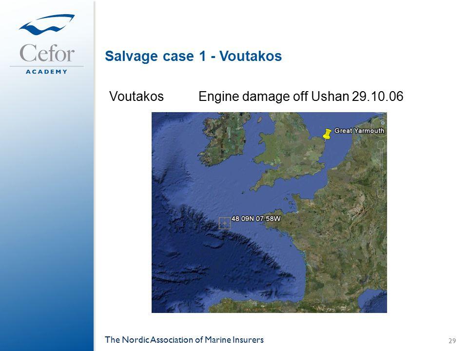 Salvage case 1 - Voutakos