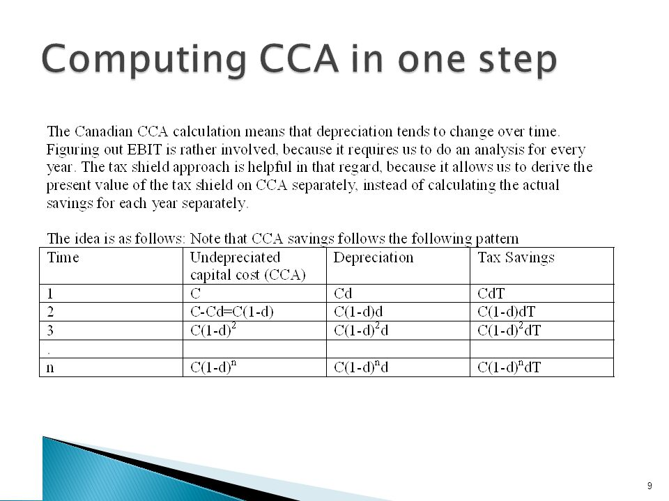 Computing CCA in one step