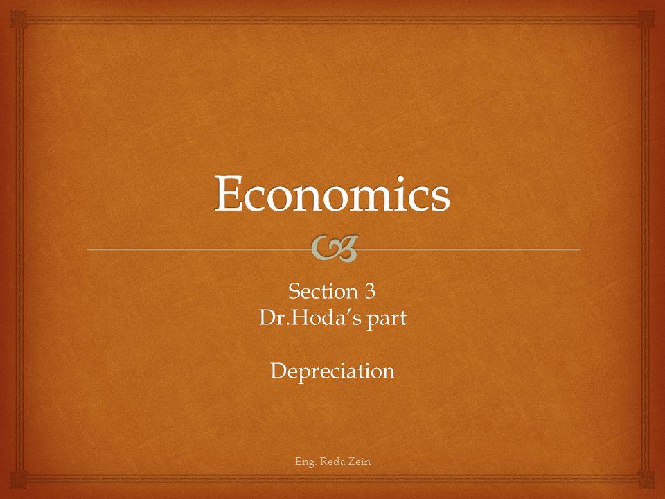 Section 3 Dr.Hoda's part Depreciation