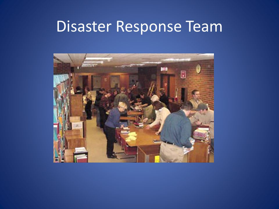 Disaster Response Team