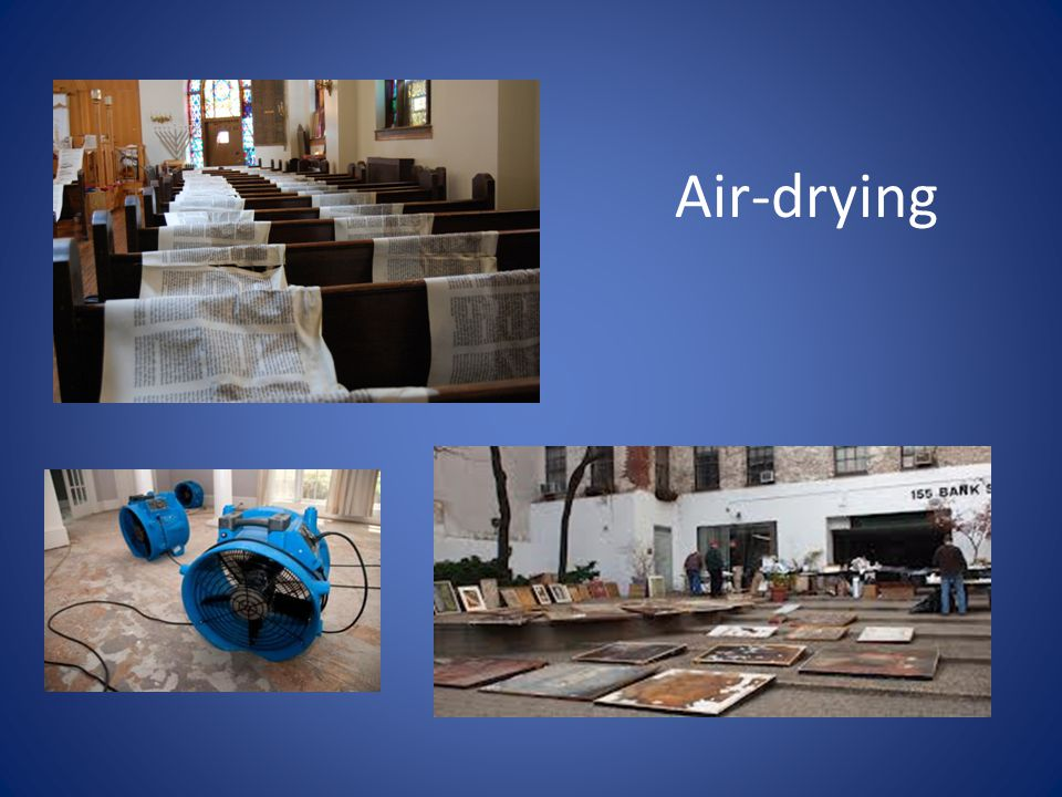 Air-drying
