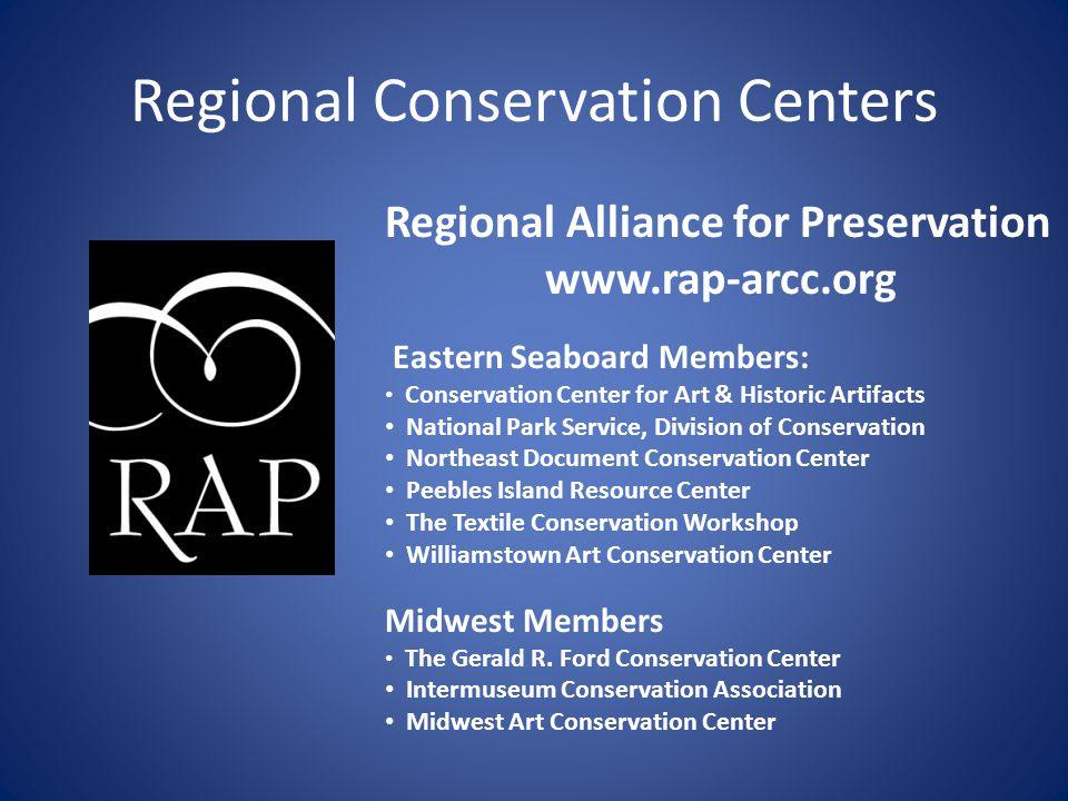 Regional Conservation Centers
