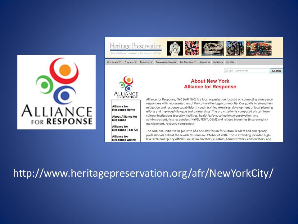 http://www.heritagepreservation.org/afr/NewYorkCity/