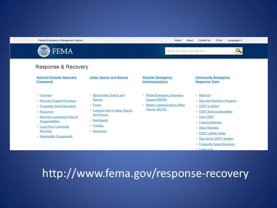 http://www.fema.gov/response-recovery