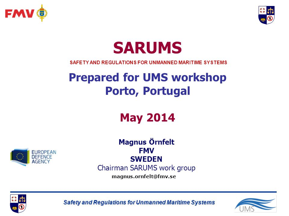 Prepared for UMS workshop
