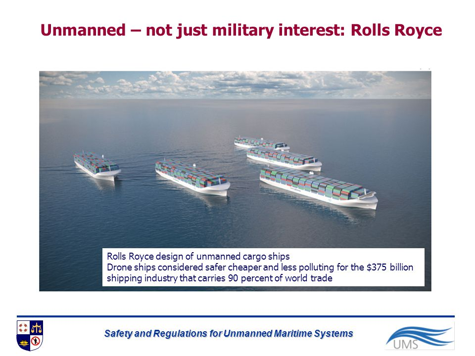 Unmanned – not just military interest: Rolls Royce