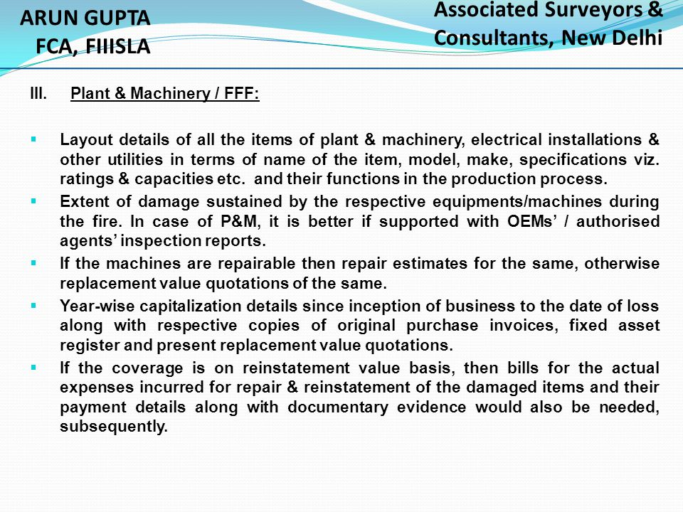 Associated Surveyors & Consultants, New Delhi