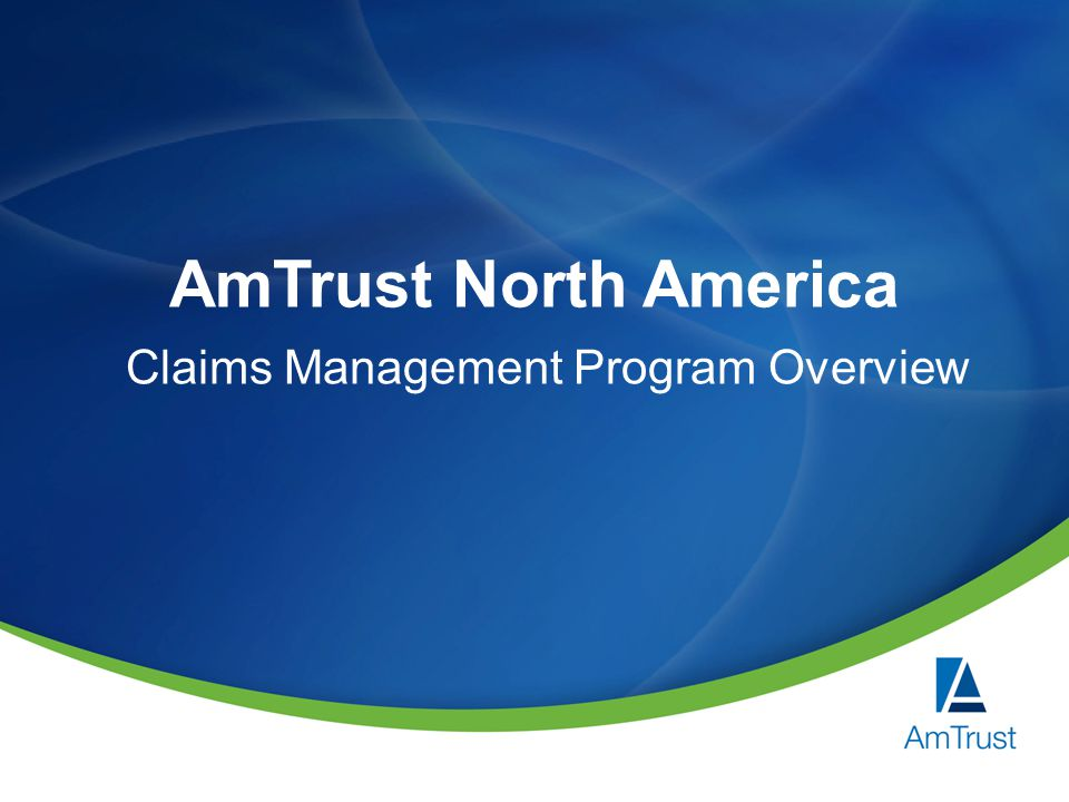 Claims Management Program Overview