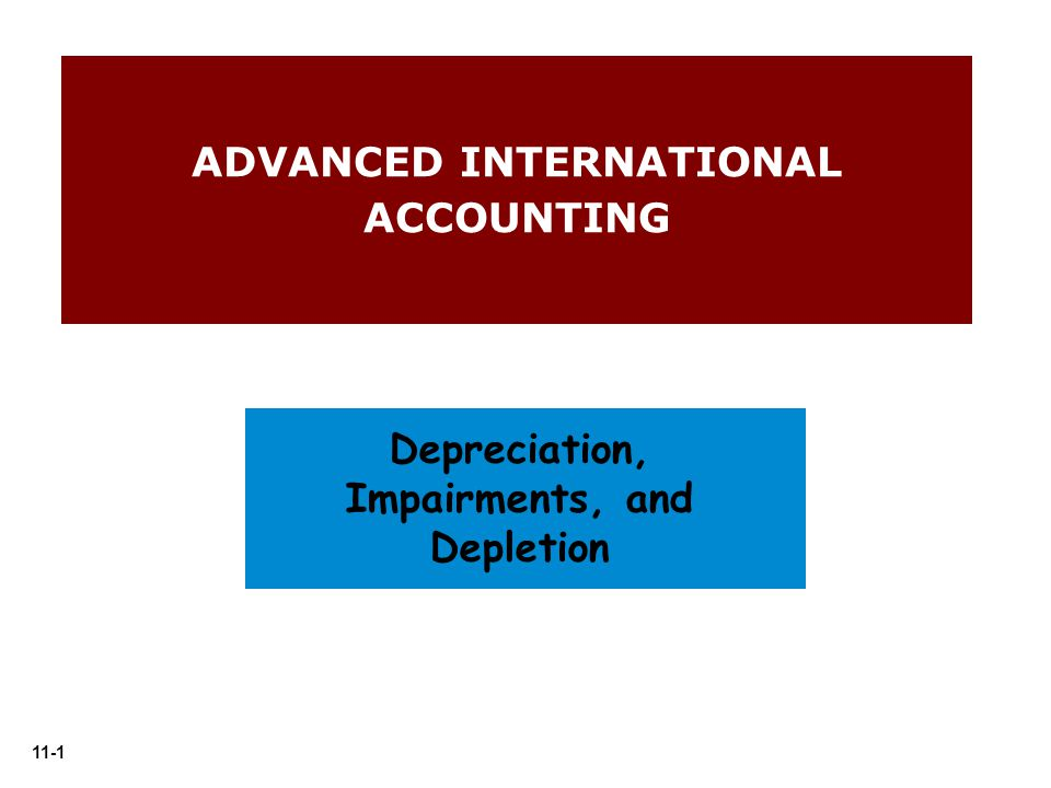 ADVANCED INTERNATIONAL ACCOUNTING