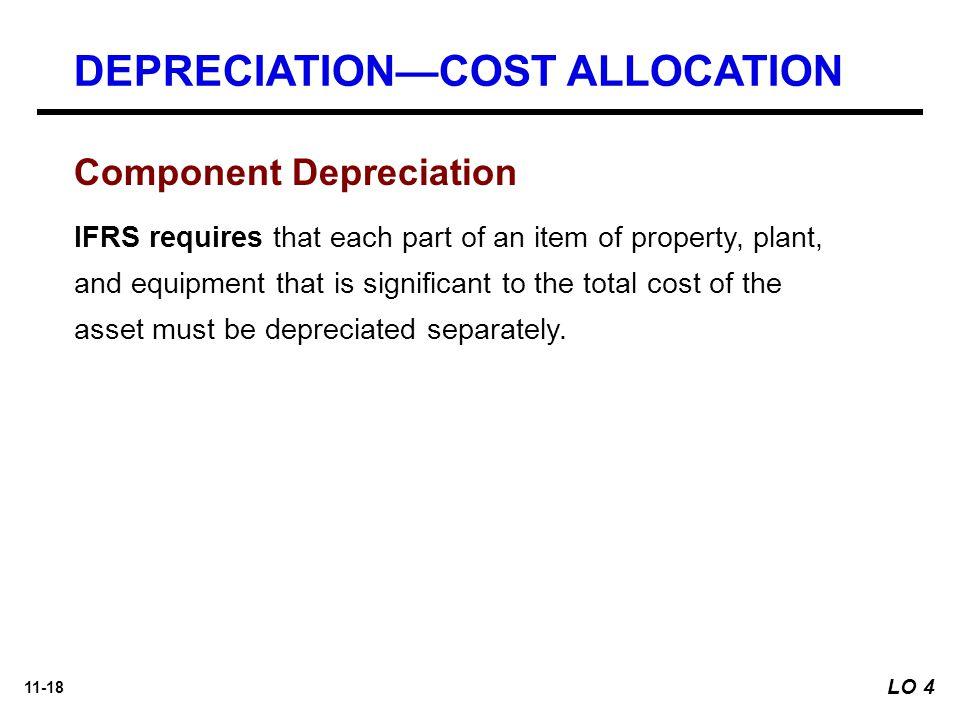 DEPRECIATION—COST ALLOCATION