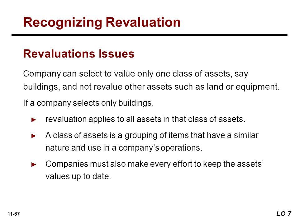 Recognizing Revaluation