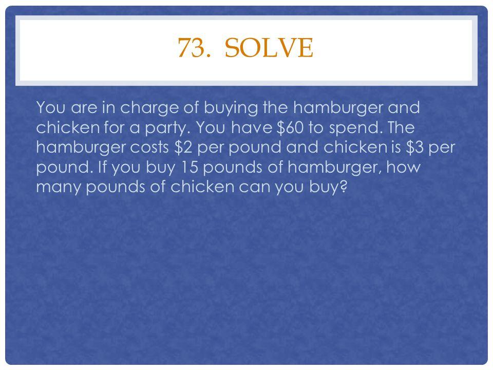 73. solve